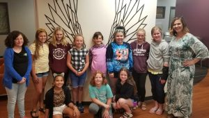 The Embe Camp Girl United visited Zeal in July to learn about entrepreneurship