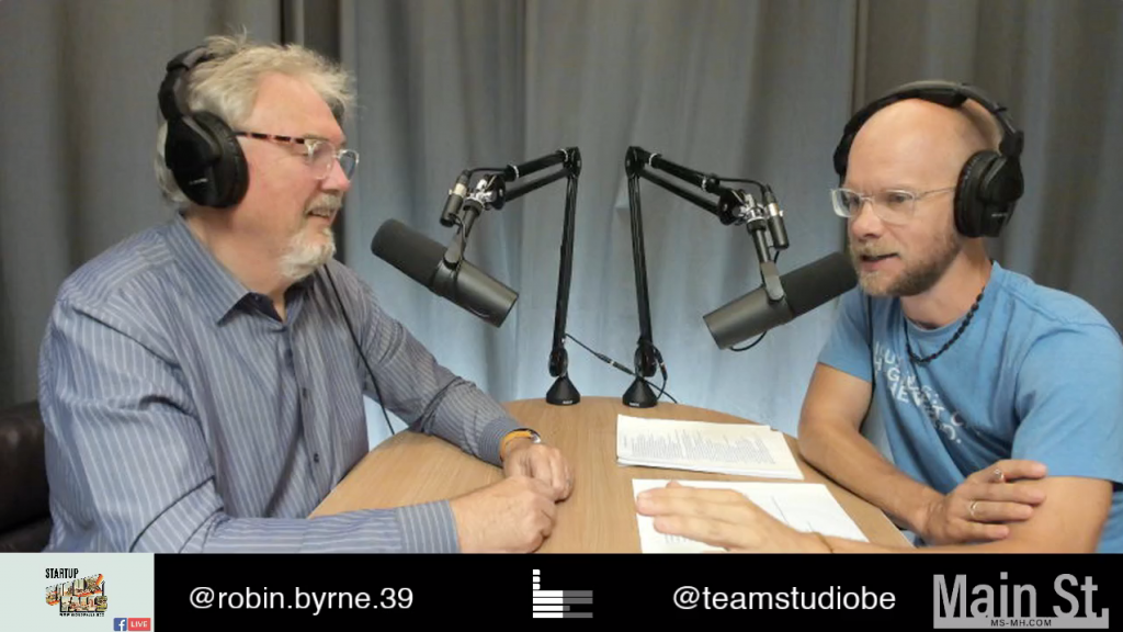 Interview with Robin Byrne