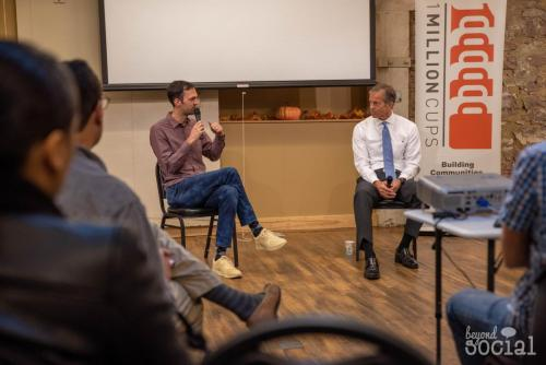 Senator Thune at 1 Million Cups (October, 2019)